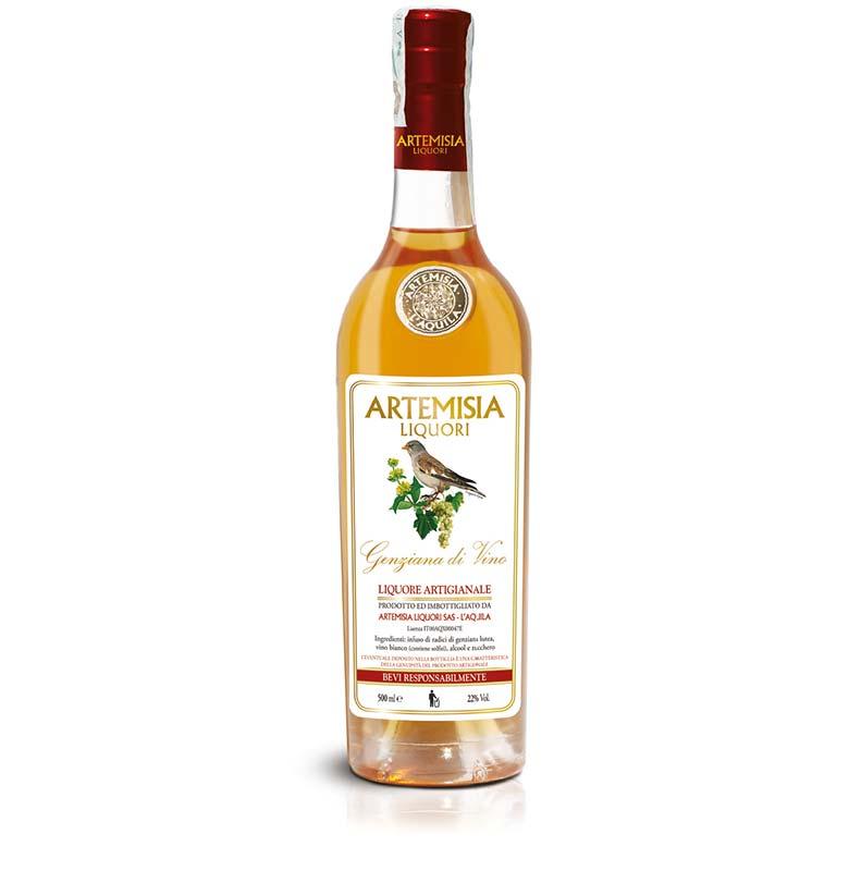 Genziana di vino Gold Line 500ml