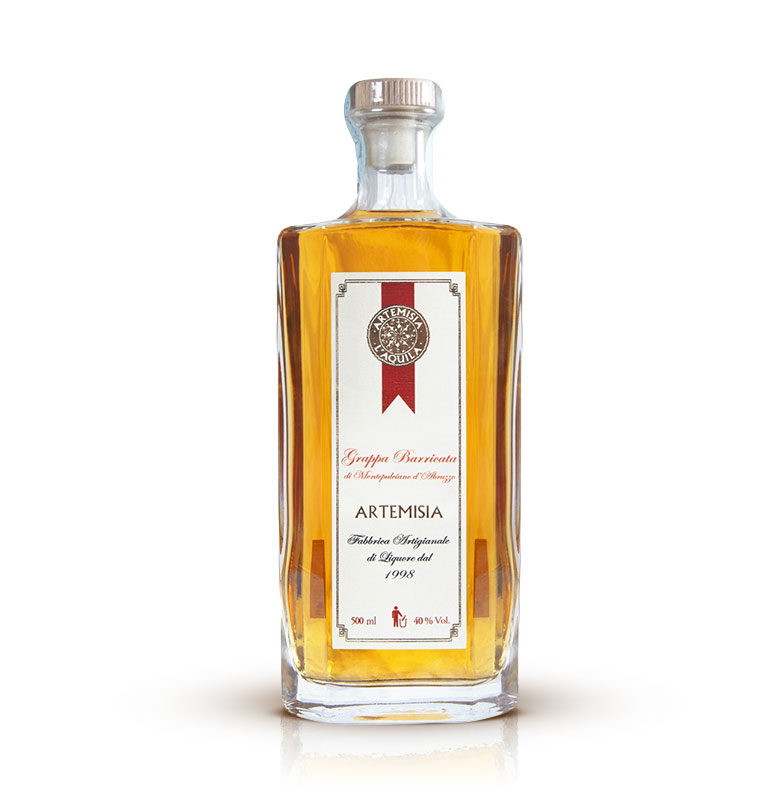 Artemisia Liquori L'Aquila - Genziana Barricata di Montepulciano 500ml